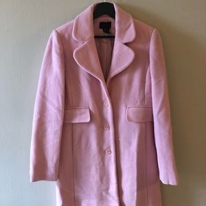 Victoria's Secret pink pea coat